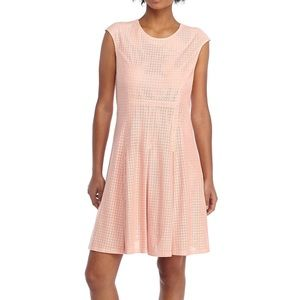 NWT The Limited perforated faux suede dress XL